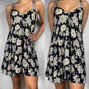 Brandy Melville Floral Slip Dress